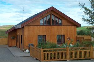 Leifshús - A cottage in category C accommodating 8 people