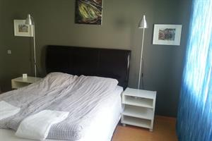 Double room with private bathroom - also suitable for families