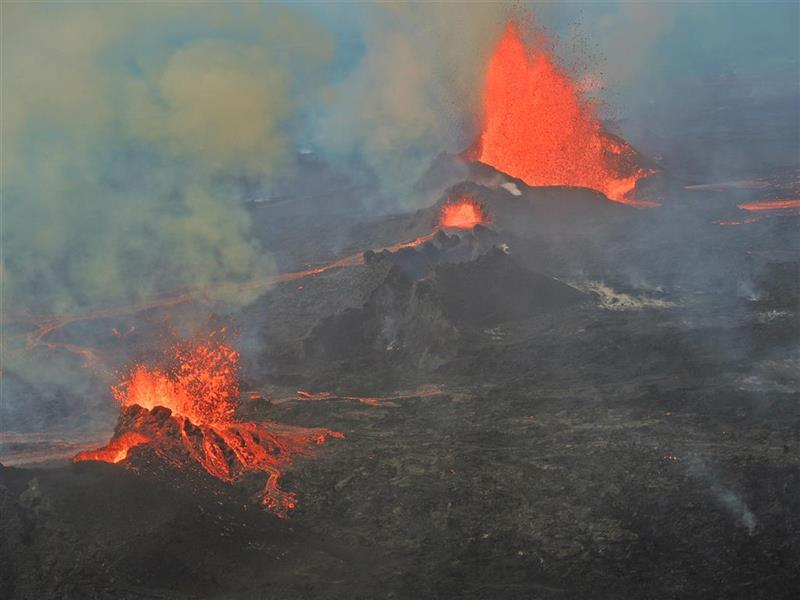 Tours to see the volcanic eruption in Iceland