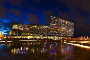 Harpa concert and coference hall