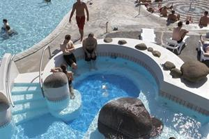 Swimming and relaxing in geothermal hot pools is a favourite pastime of Icelanders