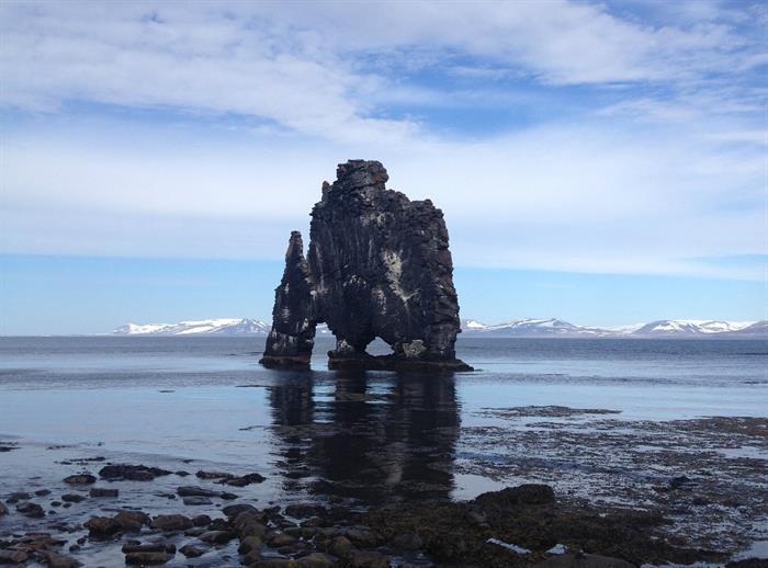 Hvítserkur in NorthWest Iceland