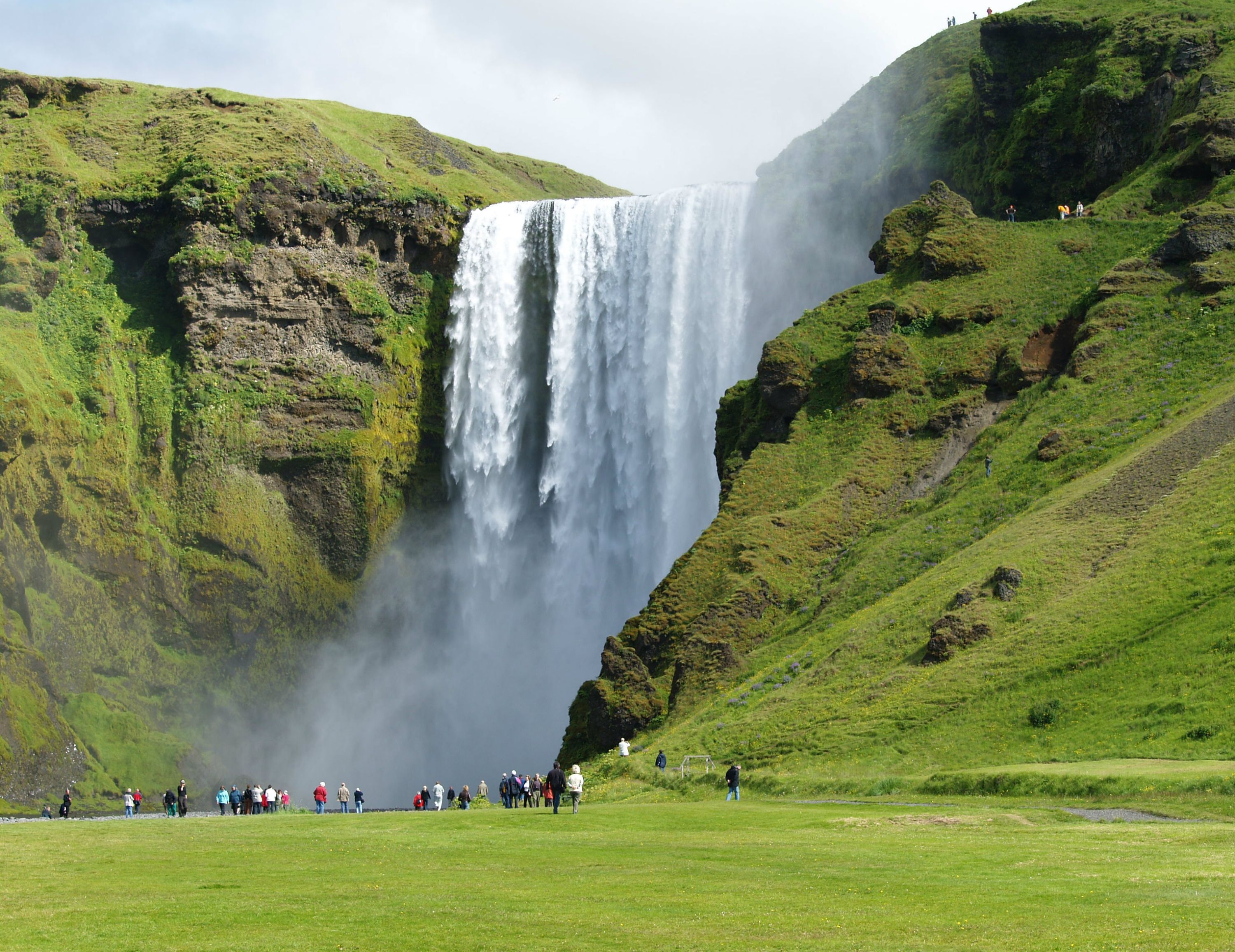 Skógafoss in South Iceland