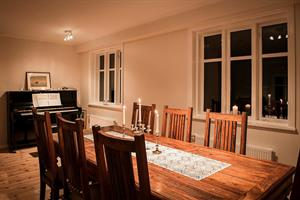 Dining area at Kolkuós Guesthouse