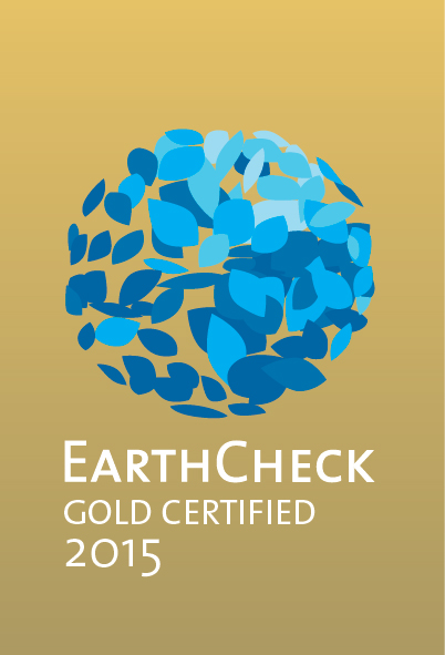 Icelandic farm holidays is gold certified by EarthCheck