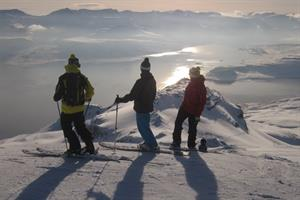 Skiing in the Eastfjords
