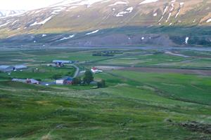 Beautiful surroundings of Draflastaðir
