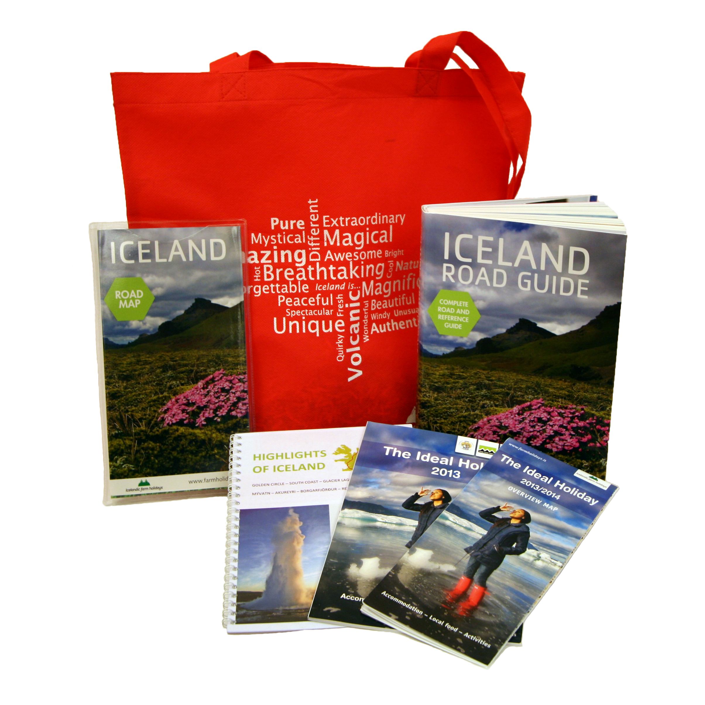 Travel documents with self-drive tour in Iceland