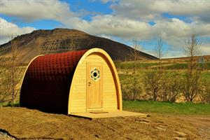 Camping pods - Sleeping bag double room