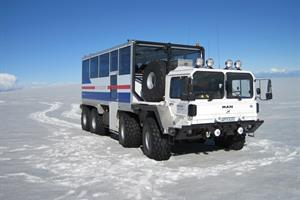 Optional - Super-bus tour to view the magnificent Langjökull Glacier