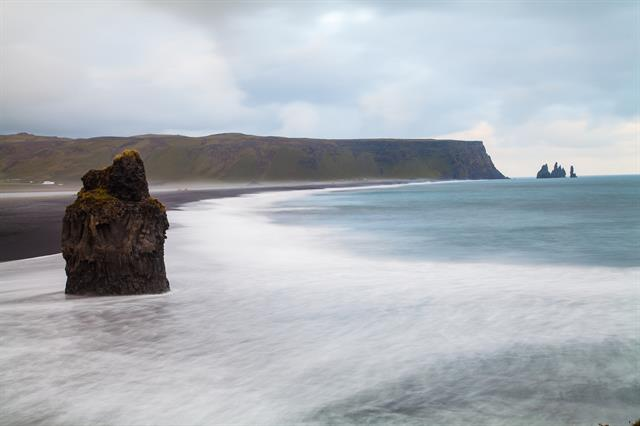 Cape Dyrholaey Vik Beach in South Iceland