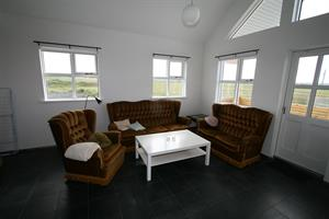 Living room of the cottage