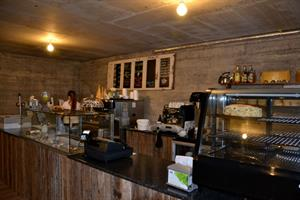 Visit the cowshed café and restaurant at Efstidalur