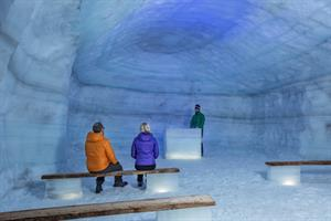 Visit the extraordinary man made ice cave in Langjökull Glacier - West