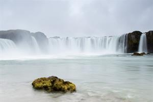 Goðafoss Waterfall ('Waterfall of the Gods') - North