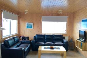 Living room of a 5 person cottage