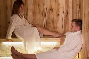 Relax at the sauna after a fantastic day