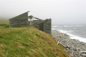 Remnants of Skálar village which was established in the early 1900's