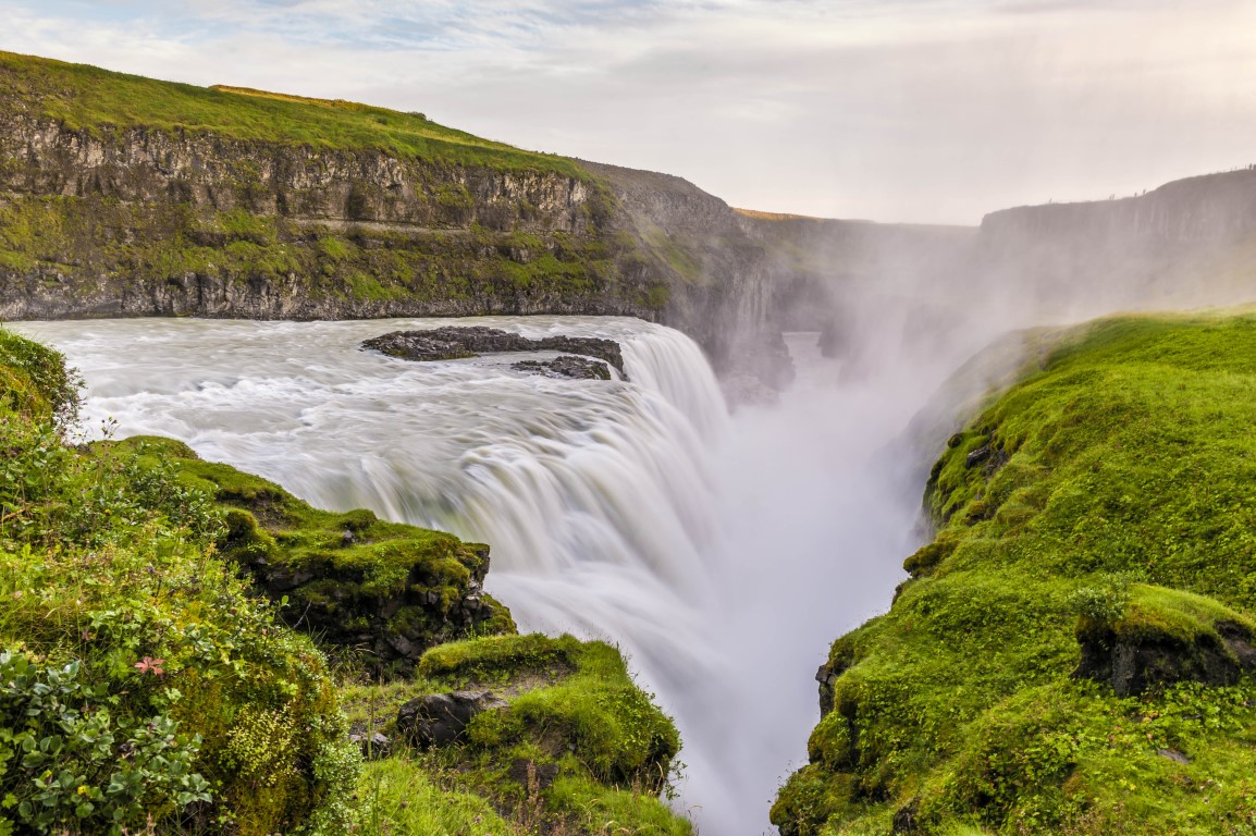 Gullfoss Waterfall in Iceland @Tony Lam