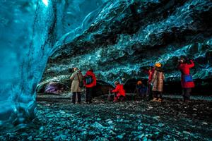 Explore the mystical world of the ice cave