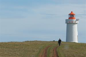 The lighthouse at Fontur