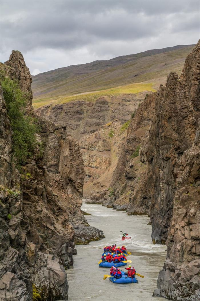 Things to do in North Iceland - River Rafting