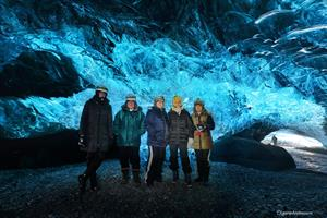 Enjoy a visit to one of Vatnajökull's ice caves