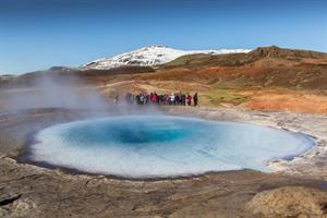 Geysir hotspring area South Iceland