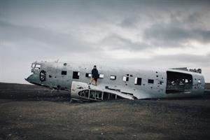 Sólheimasandur plane wreck in the South coast