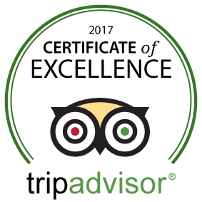 TripAdvisor Certificate of Excellence 2017 to Hey Iceland