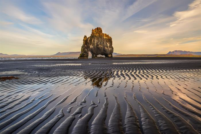 Hvitserkur rock in North Iceland