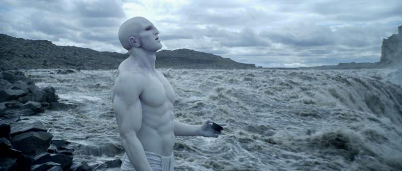 Prometheus Opening Scene at Dettifoss in Iceland