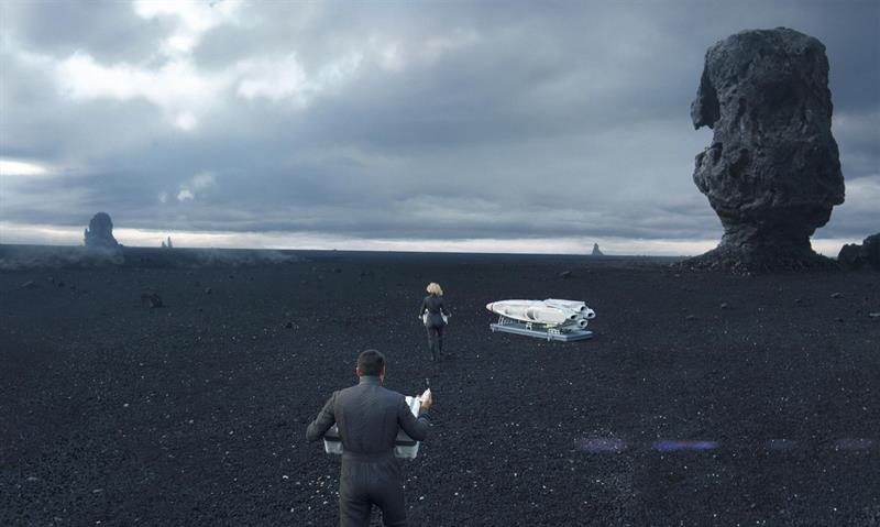Star Trek - Into the Darkness in Iceland