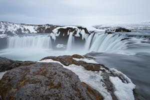 Goðafoss Waterfall in North Iceland