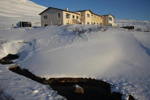 Hotel Laugarholl in Winter