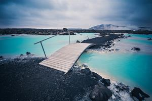 Blue Lagoon on Reykjanes Peninsula