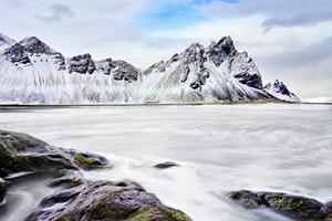 Stokksnes in Winter