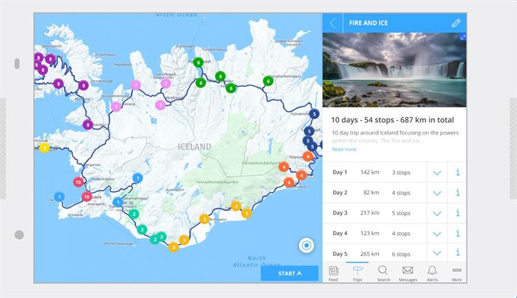 Pre-loaded customized itinerary crafted by our travel experts | Driver Guide Hey Iceland