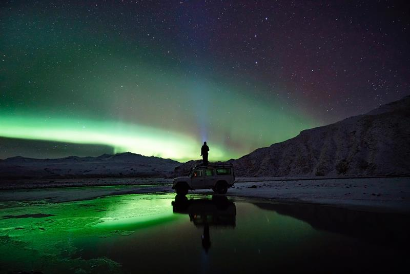 Photograph Northern Lights in Iceland