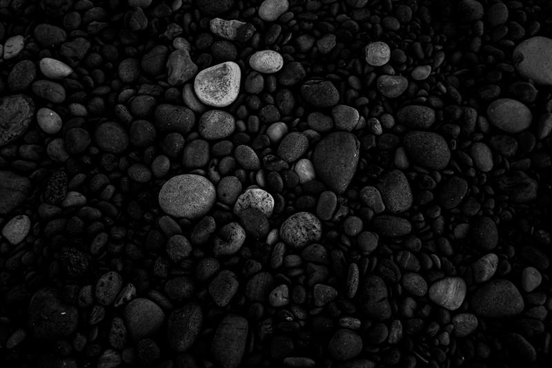 Black pebbles in Djúpalónsandur