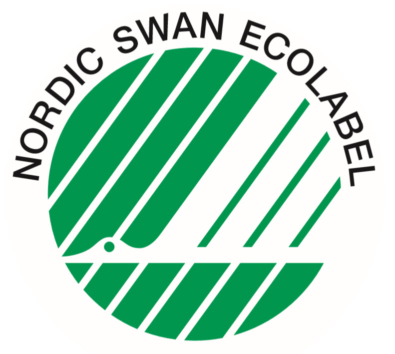 Certified by the Nordic Swan Ecolabel