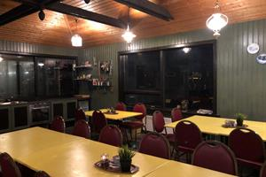 Cooking facilites and dining area