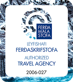 Licensed by the Icelandic Tourist Board