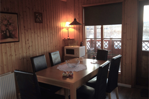 Dining area in cottage Hrísmóar 5