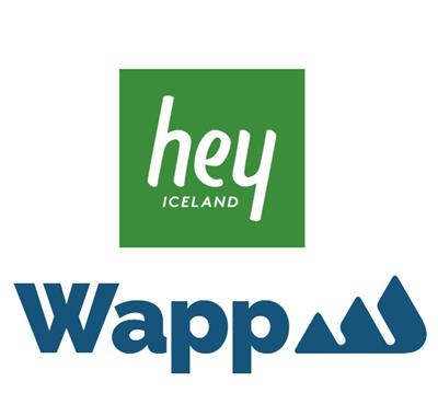 Hey Iceland and Wapp Hiking trail app