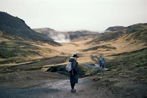 Hiking in Iceland