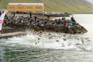 open-water swimming