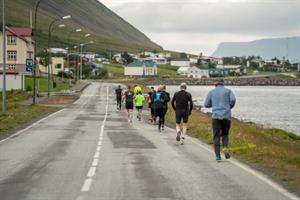 Running in the Westfjords