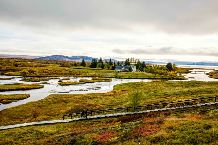 Þingvellir National Park in the autumn