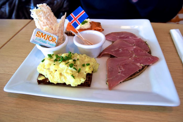Tastings of traditional Icelandic dishes